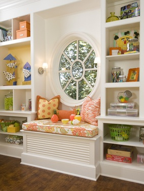 Love bookcase on either side of window for client MG