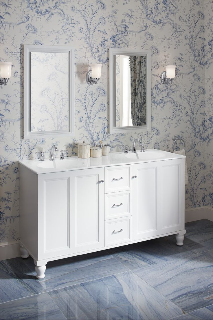 Best Delft Blue Bathroom Images Onblue Bathrooms