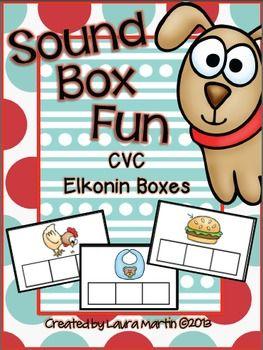 Sound Box Fun-CVC Elkonin Boxes