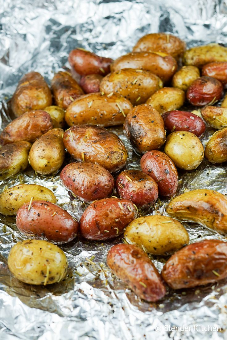 These Roasted Rosemary Baby Potatoes will quickly become your new favorite way to make potatoes - slightly crispy on the outside, incredibly tender on the inside, and full of fresh herbs.My...