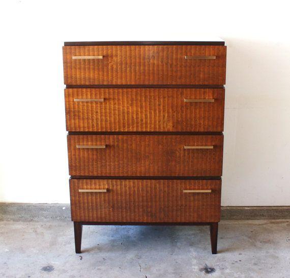 Vintage Art Deco Moderne Gentlemanu0027s Dresser By Donald Deskey For AMODEC By  Manlyvintage On Etsy