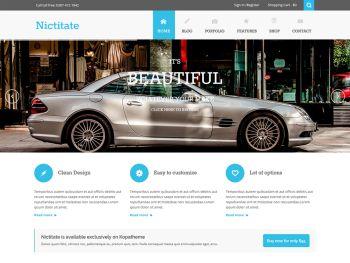 Template Nictitate Wordpress Theme