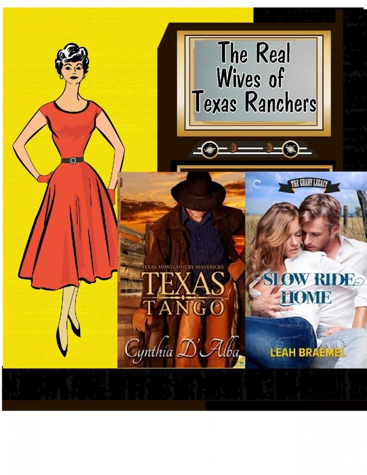 """""""Real Wives of Texas Ranchers"""" interview over at The Book Tart, between Slow Ride Home's Allie O'Keefe, and Texas Tango's Caroline Montgomery (by Cynthia d'Alba)"""