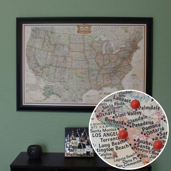 25 beautiful Us travel map ideas on Pinterest Map of america