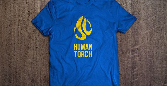 "Blue and gold ""Human Torch"" tshirt for Stephen Curry of the NBA Golden State Warriors. Original fire concept with ""SC"" in the middle for Steph Curry, and ""30"" when all flames are included. Human torch mode! (tshirt design by DimesAlign)"