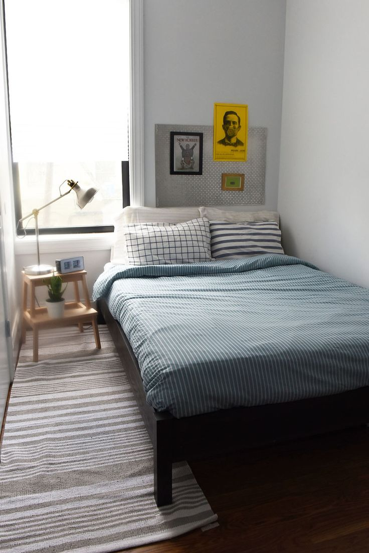 How To Fix A Guyu0027s Room In 10 Days. Ikea Small BedroomSmall Bedroom  DesignsBedroom ...