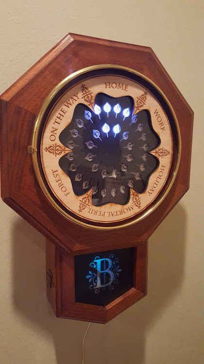 Trey Bagley is a senior at Duke University who used his knowledge as a computer science major to create a real-life, digital version of the magical clock from the Weasleys' house in Harry Potter.