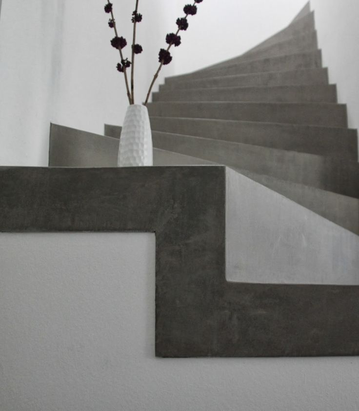 Beton Cire Treppe++Betontreppe