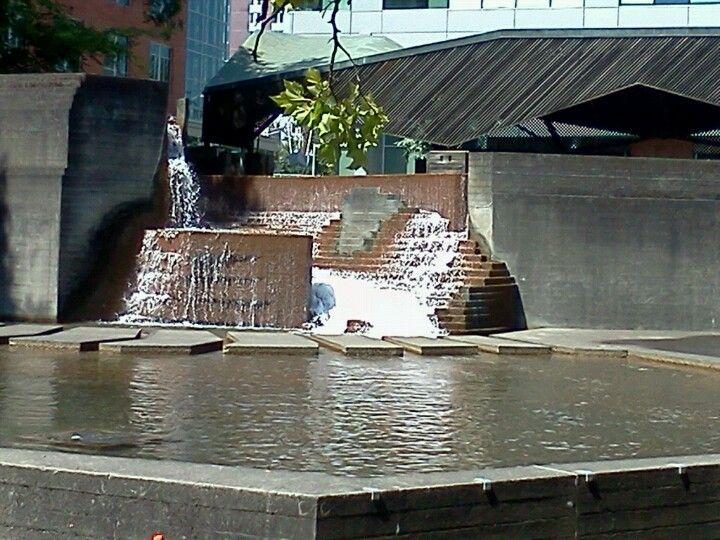 Lovejoy Fountain Park em Portland, OR