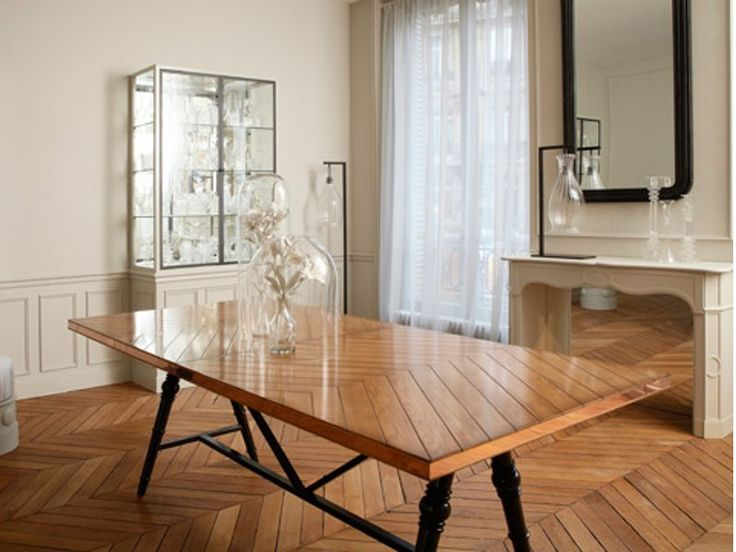 Extending oak table la collection parisienne nouveaux - La table parisienne angouleme ...