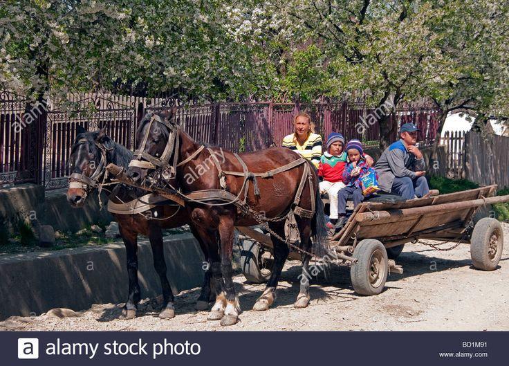 http://c7.alamy.com/comp/BD1M91/romanian-farm-family-on-horse-drawn-farm-wagon-in-countryside-near-BD1M91.jpg