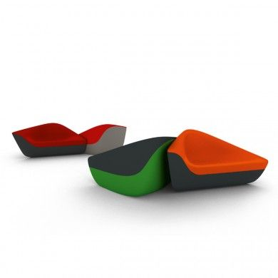 Walter Knoll, Seating Stones, Loungesessel