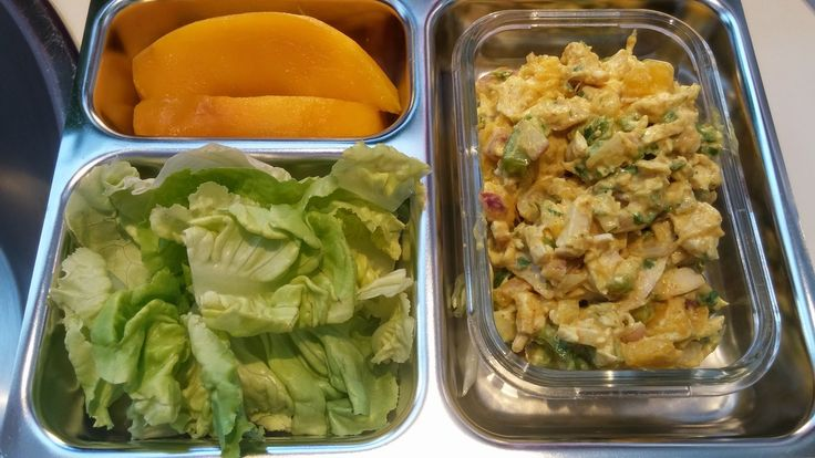 Hungry Hubby And Family: COHEN DIET: Chicken Mango and Curry Lettuce Wraps