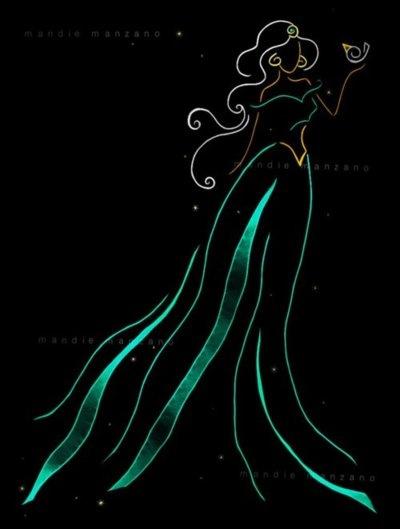 Jasmine Abstract