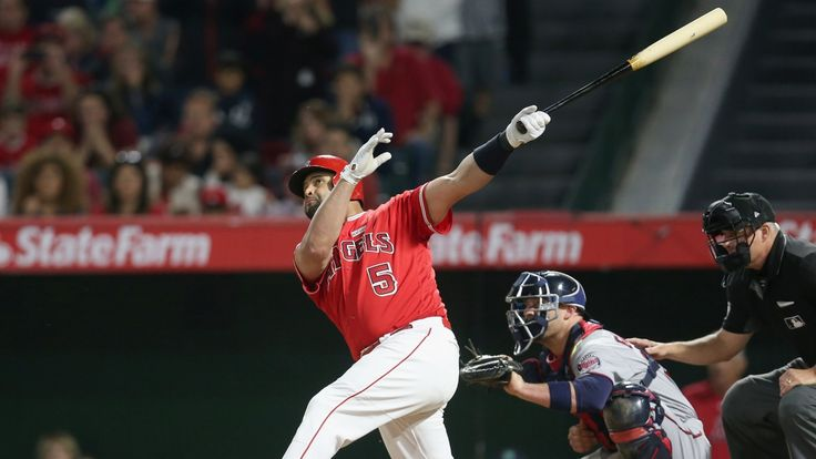 Greg Beacham   Albert Pujols hit his 600th career homer on Saturday night, delivering a grand slam to become the ninth player in major league history to reach the mark. The Los Angeles Angels slugger connected in the fourth inning against Minnesota's Ervin Santana, driving a high fly... - #600Th, #Albert, #Baseball, #Career, #CBC, #Hits, #Home, #Pujols, #Run, #Sports, #World_News