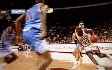 This might be the 4th time I pinned this GIF because I think it's Jordan's greatest move EVER