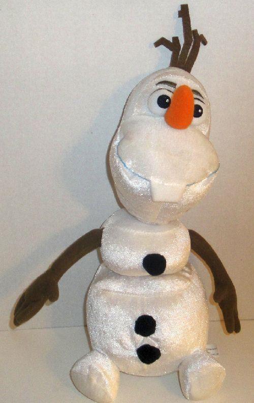 "DISNEY FROZEN OLAF TALKING PULL APART PLUSH 15"" SNOWMAN DOLL BUDDY PAL TOY #Disney"