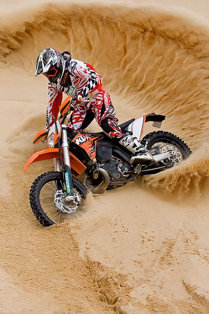Dirtbiking! Just don't be afraid to get a bit dirty in the process