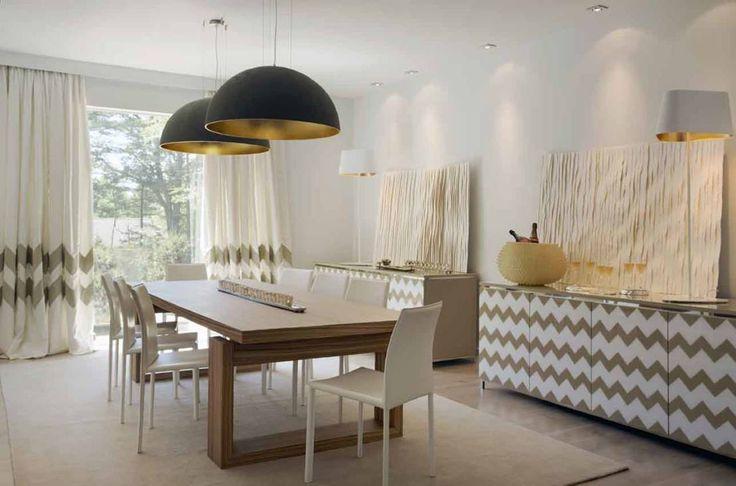 EUROPE MEETS BOSTON : Salas de jantar ecléticas por SA&V - SAARANHA&VASCONCELOS