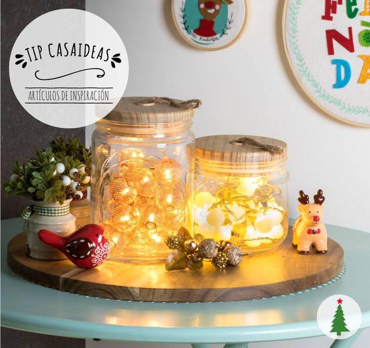 Las luces de Navidad no son exclusivamente para el árbol, en nuestro nuevo Tip Casaideas, te mostramos algunas formas de usarlas en diferentes espacios de tu casa, para decorar con amor estas fiestas.