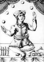MALABARISMO Os relatos da história do malabarismo informam que as atividades do malabarismo iniciaram-se por volta de 4000 a.C.. Em expedições arqueológicas realizadas no antigo Egito (na ép…
