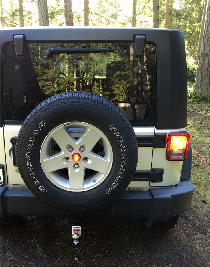 3rd Brake Light Led Mod My Diy Jeep Jk Pinterest Led