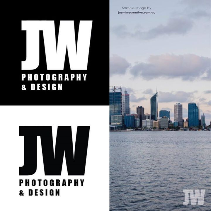 A minimalistic monogram logo and watermark design for John Woodruffe Photography and Design . Simple and effective so that it doesn't distract from the photography and is easy to recognise.  #design #minimalism #logo - http://ift.tt/1HQJd81