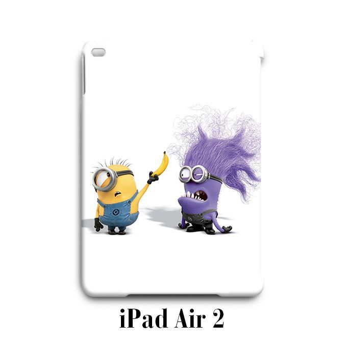 Purple Minions Despicable Me iPad Air 2 Case Cover Wrap Around