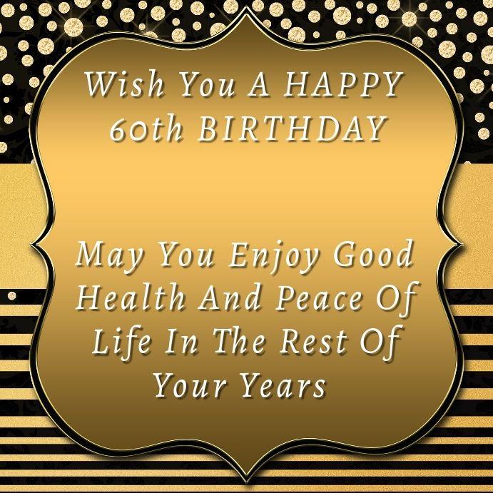 Birthday Instagram Card Birthday Wishes Happy 60th Birthday Free Birthday Wishes