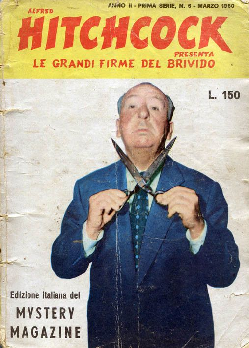 """Hitchcock - Grandi firme del brivido"" n. 6 (marzo 1960) #Hitchcock"