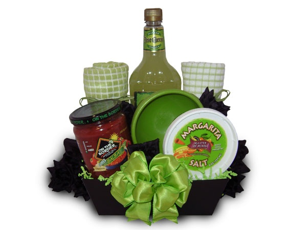 "Basketstogive, LLC Gift Baskets  ""Salsa and Margaritas"" Gift Basket  Item # 25000485  $30.00"