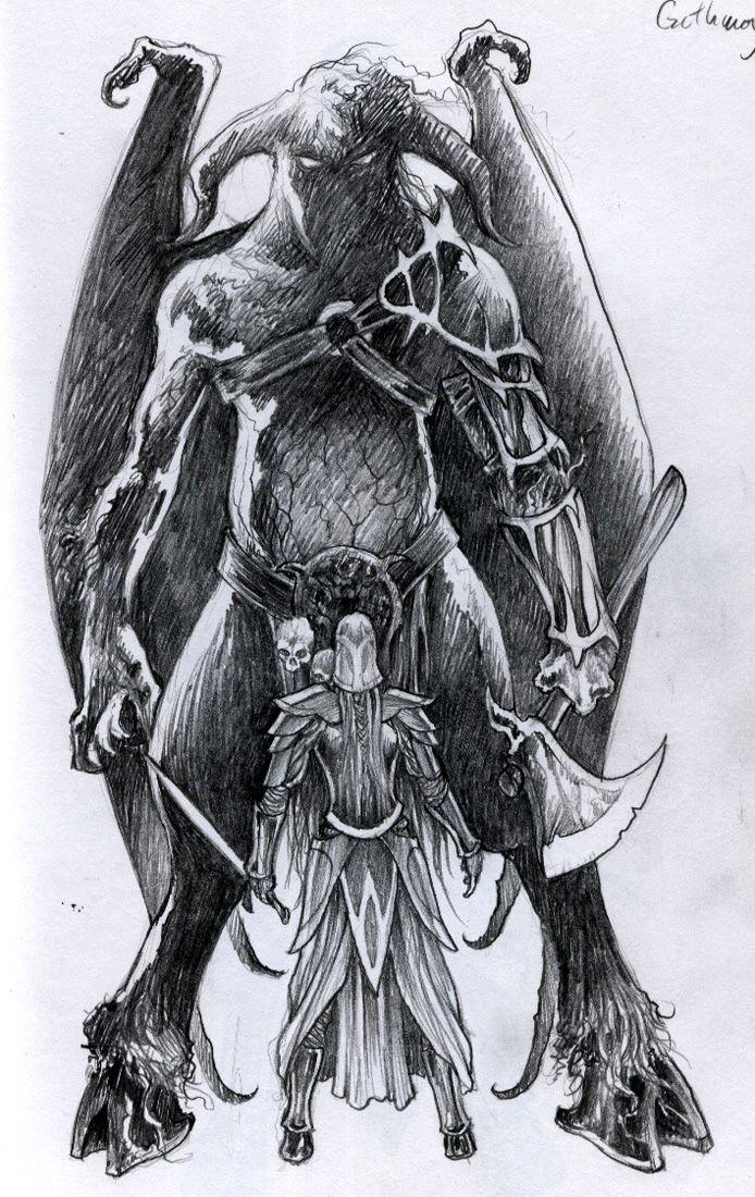 Gothmog & Fingon | Silmarillion | Pinterest | Tolkien