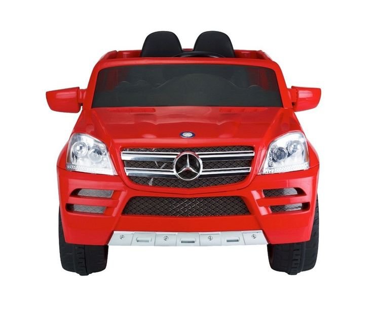 Camioneta Eléctrica Mercedes Benz Roja, regalele a tu hijo el mejor regalo, totalmente licenciado por Mercedes Benz, con palanca para marcha hacia adelante y en reversa.