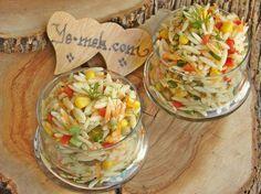 Arpa Şehriye Salatası Resimli Tarifi - Yemek Tarifleri