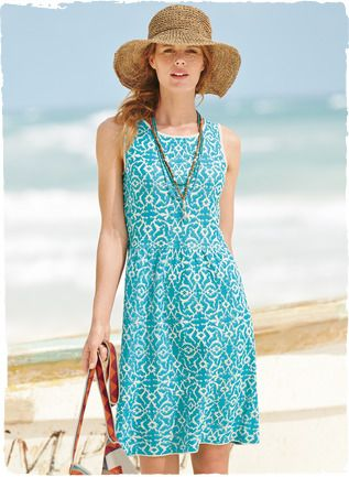 10 Best images about Cotton Dress on Pinterest  Cotton summer ...