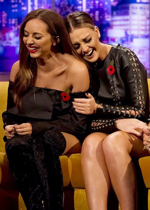"""littlesmixs: """" Little Mix on the Jonathan Ross Show """""""