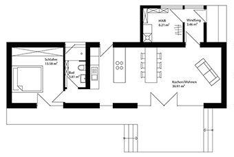 Neues wohnen im cubig designhaus minihaus tiny homes for Cubig minihaus