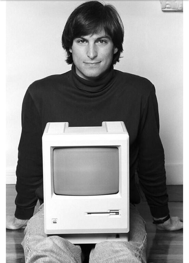 Foreshadowing an empire Steve Jobs