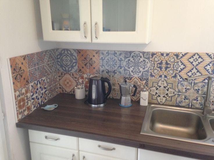 Kitchen tiles from MrBricolage in Angouleme