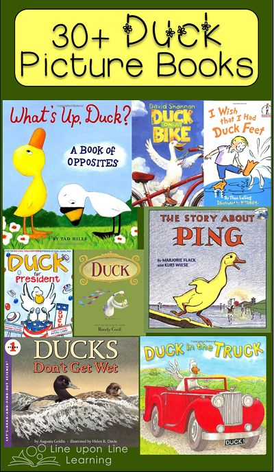 My 2yo LOVES ducks!  30+ Duck Picture Books | Line upon Line Learning