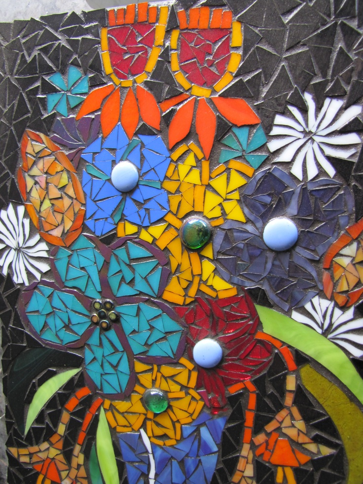 1000 Images About Mosaic Flower Power On Pinterest