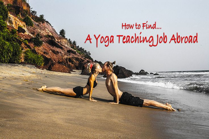 Wondering how to find a yoga teaching job abroad? After practicing and teaching yoga in over 10 countries - here are my best tips!