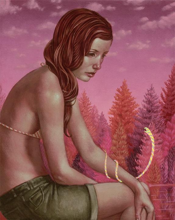 """Casey Weldon """"Frenemies"""": Artist Casey, Weldon Frenemies, Casey Weldon, Art Appreciation, Illustration, 01 Art, Kinda Art"""