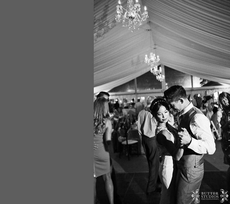 Bride and Groom's first dance. Hart House Restaurant, Burnaby BC - Vancouver Wedding Photographers - http://www.butterstudios.ca
