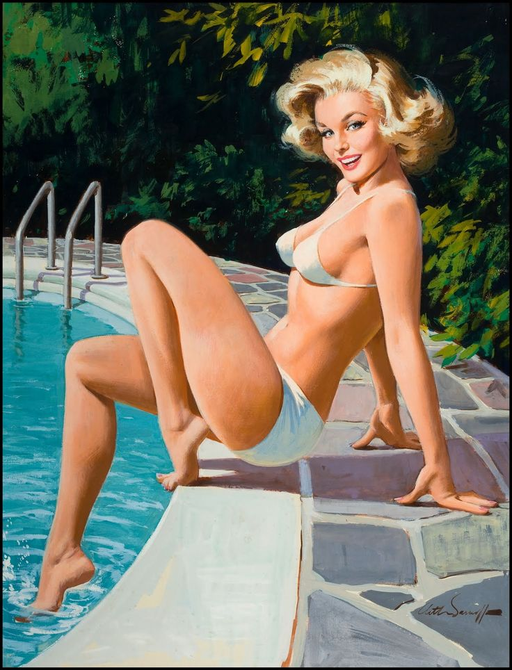 S is for Sarnoff Arthur Sarnoff was a prolific illustrator & advertising artist during the 60's