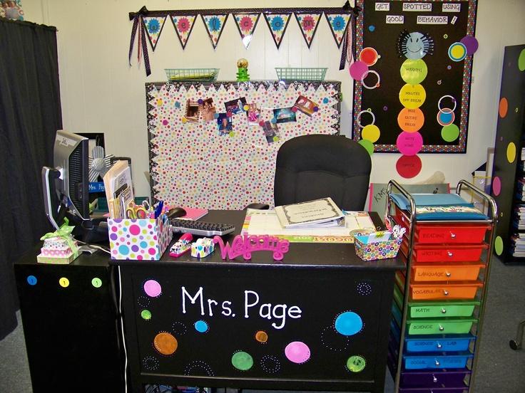 Classroom Decor Polka Dots ~ Polka dot theme classroom ideas pinterest