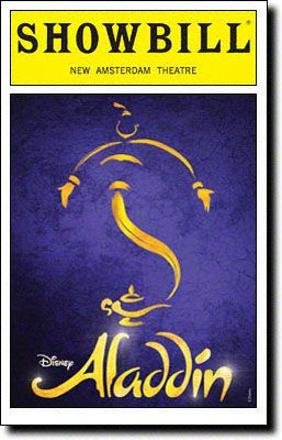 Aladdin begins previews tonight at Broadway's New Amsterdam Theatre