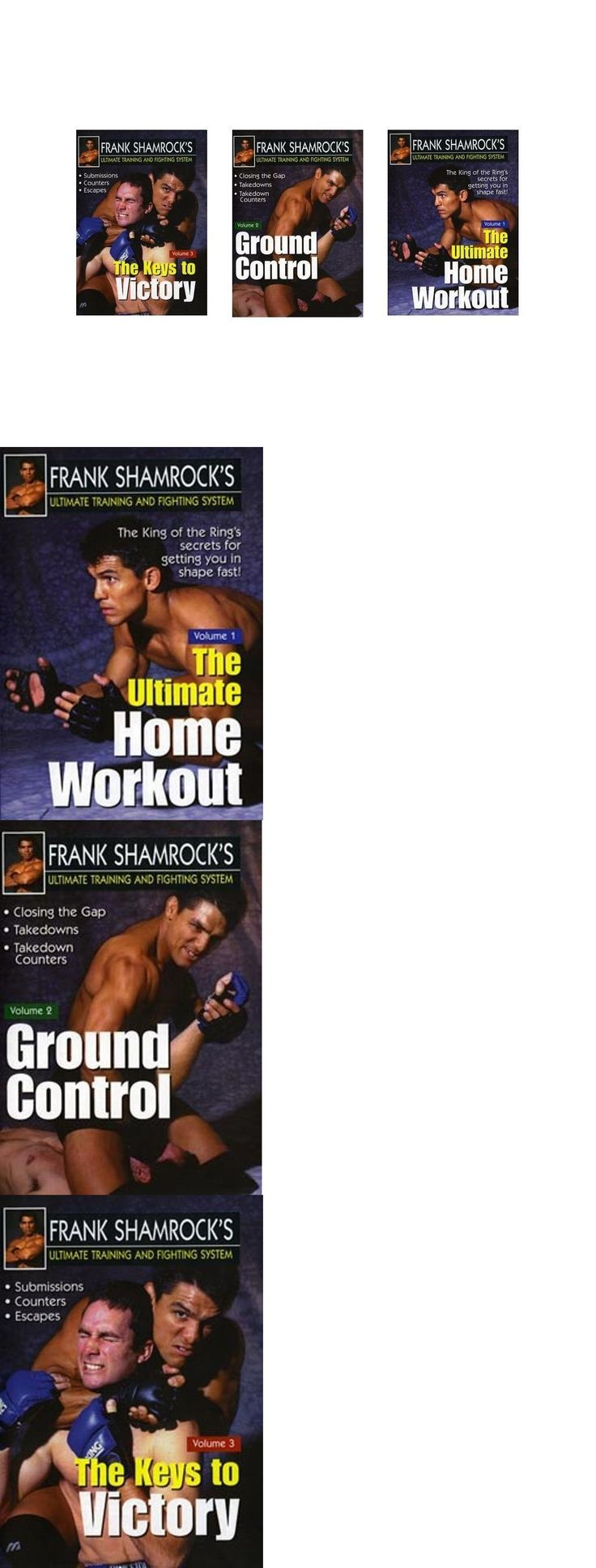 DVDs Videos and Books 73991: Frank Shamrock Training And Fighting 3 Dvd Set Mma Grappling Fighting Advanced BUY IT NOW ONLY: $69.95