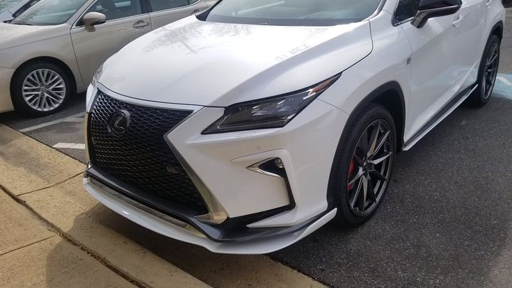 This is a one of a kind 2019 RX 350. [Video] Lexus rx