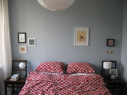 Minimalist Blogging Katja and Minna s Nestled In Apartment Blue Grey New - Amazing Blue and Grey Bedroom Style